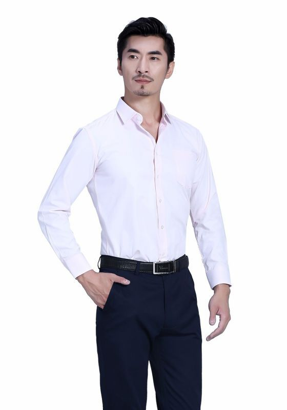 衬衫粉色男